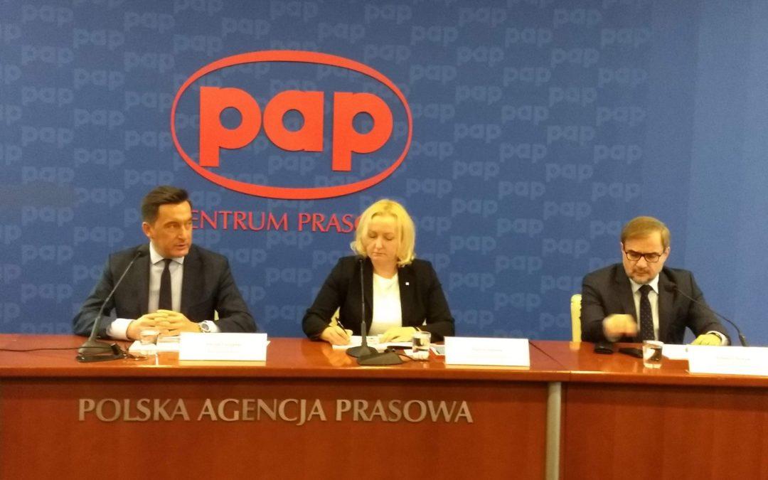 Konferencja prasowa PAP