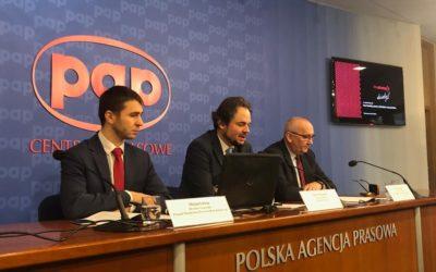 Konferencja prasowa – raport o maszynistach kolejowych