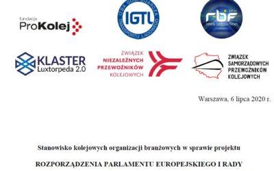 Kolejne  ważne  wspólne stanowisko  organizacji kolejowych